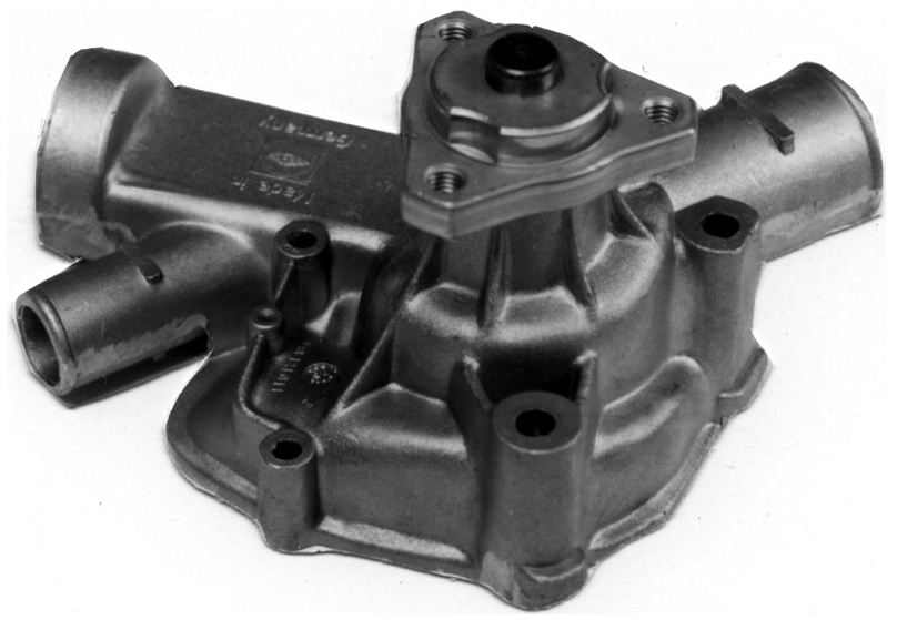GEBA WATER PUMP W/ METAL IMPELLER - PORSCHE (924) - Never Ending Details