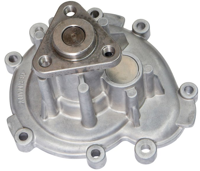 GEBA WATER PUMP W/ METAL IMPELLER AND GASKET - PORSCHE (CAYENNE) - Never Ending Details