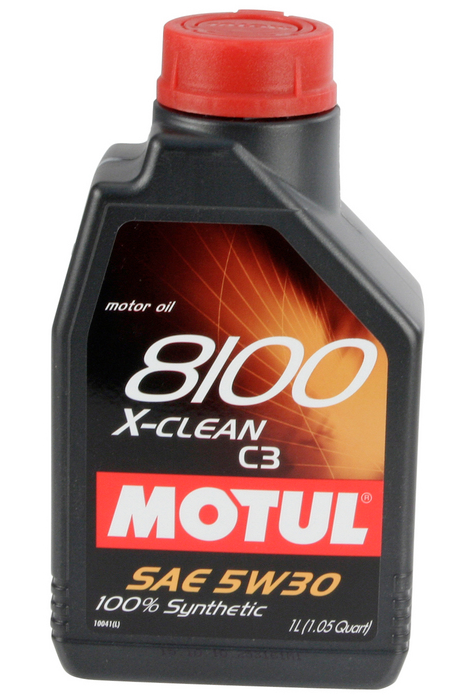 Motul 8100 5W30 X-Clean 1L Bottle - Never Ending Details