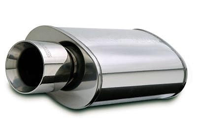 "MAGNAFLOW PERFORMANCE MUFFLER W/TIP 5X8X14 OVAL 2.25"" INLET - Never Ending Details"