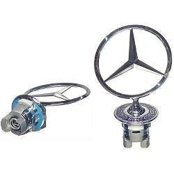 Genuine Hood Star Logo Emblem Ornament - MERCEDES-BENZ - Never Ending Details