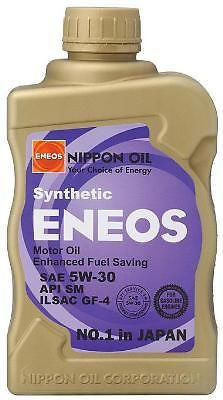 ENEOS 5W30 FULLY SYNTHETIC GF5 MOTOR OIL - 1 CASE OF 6 QUARTS - Never Ending Details