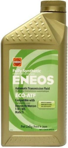 ENEOS ECO-ATF LOW VISCOSITY TRANSMISSION FLUID (1) Case (6) Quarts - Never Ending Details