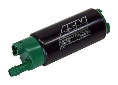 AEM Electronics E85 High Flow Fuel Pump Kit 320lph 43psi - Never Ending Details