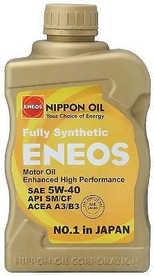 Eneos 5W40 Fully Synthetic Engine Motor Oil Case (6 Quarts) - Never Ending Details