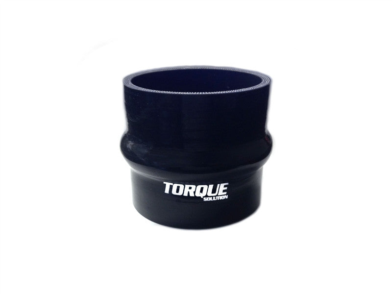 "Torque Solution Hump Silicone Coupler: 3"" Black Universal - Never Ending Details"