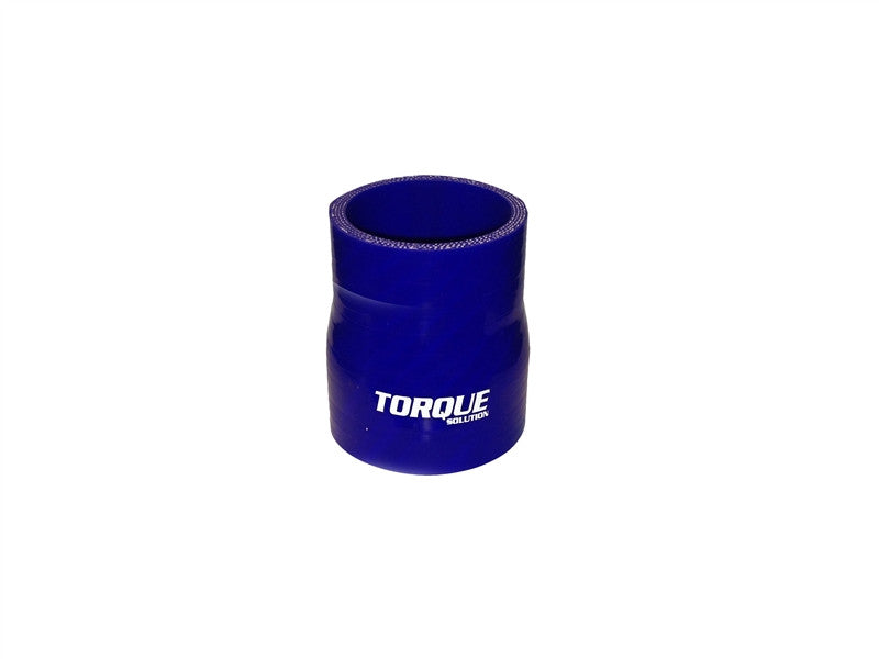 "Torque Solution Transition Silicone Coupler: 2"" to 2.25"" Blue Universal - Never Ending Details"