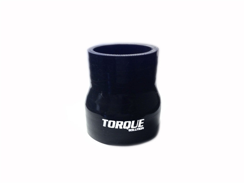 "Torque Solution Transition Silicone Coupler: 2"" to 2.5"" Black Universal - Never Ending Details"