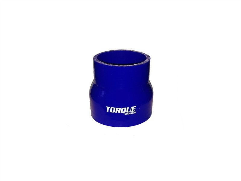 "Torque Solution Transition Silicone Coupler: 2.5"" to 3"" Blue Universal - Never Ending Details"