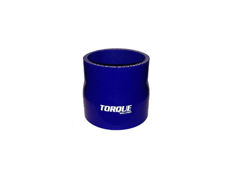 "Torque Solution Transition Silicone Coupler: 2.75"" to 3"" Blue Universal - Never Ending Details"