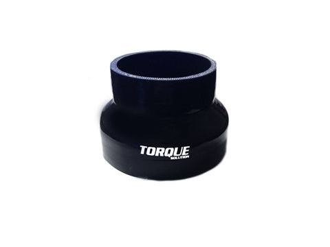 "Torque Solution Transition Silicone Coupler: 3"" to 4"" Black Universal - Never Ending Details"