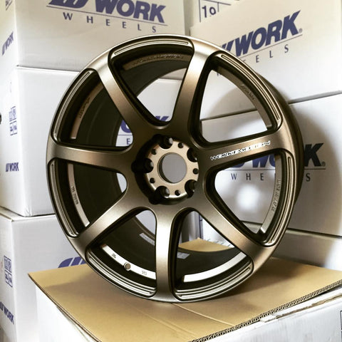 Work emotion T7R 19x10.5 +22 Matte Bronze (AHG) 5x114.3 - Never Ending Details