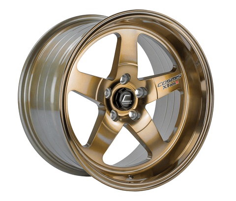 Cosmis Racing XT-005R 18x9 +25mm 5x100 Hyper Bronze