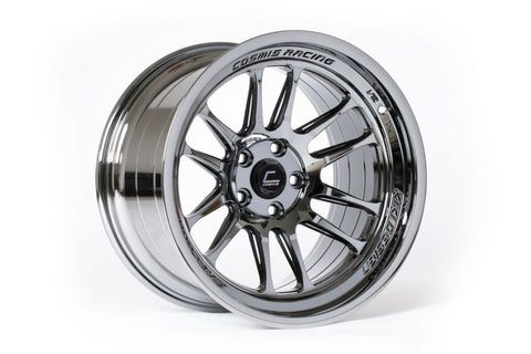 Cosmis Racing XT-206R Black Chrome Wheel 18x9.5 +10mm 5x114.3