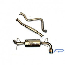Agency Power Cat Back Exhaust - Subaru (WRX Hatchback) - Never Ending Details