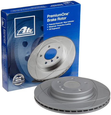 ATE PremiumOne Coated Brake Rotor Rear - Subaru (Legacy / Outback)