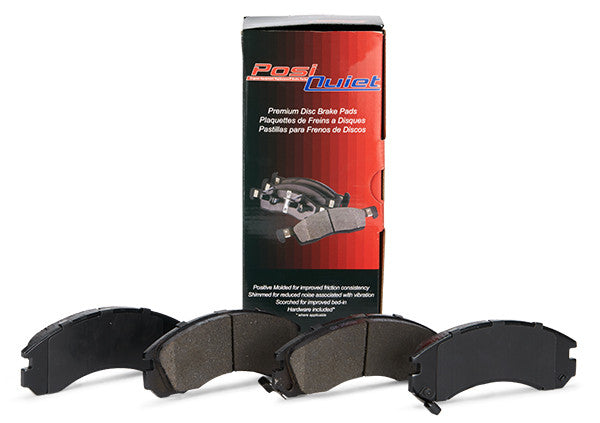 PosiQuiet Ceramic Brake Pads Rear - Base Brakes - Never Ending Details