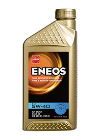 ENEOS 5W-40 High Performance Fully Synthetic Motor Oil - Quart