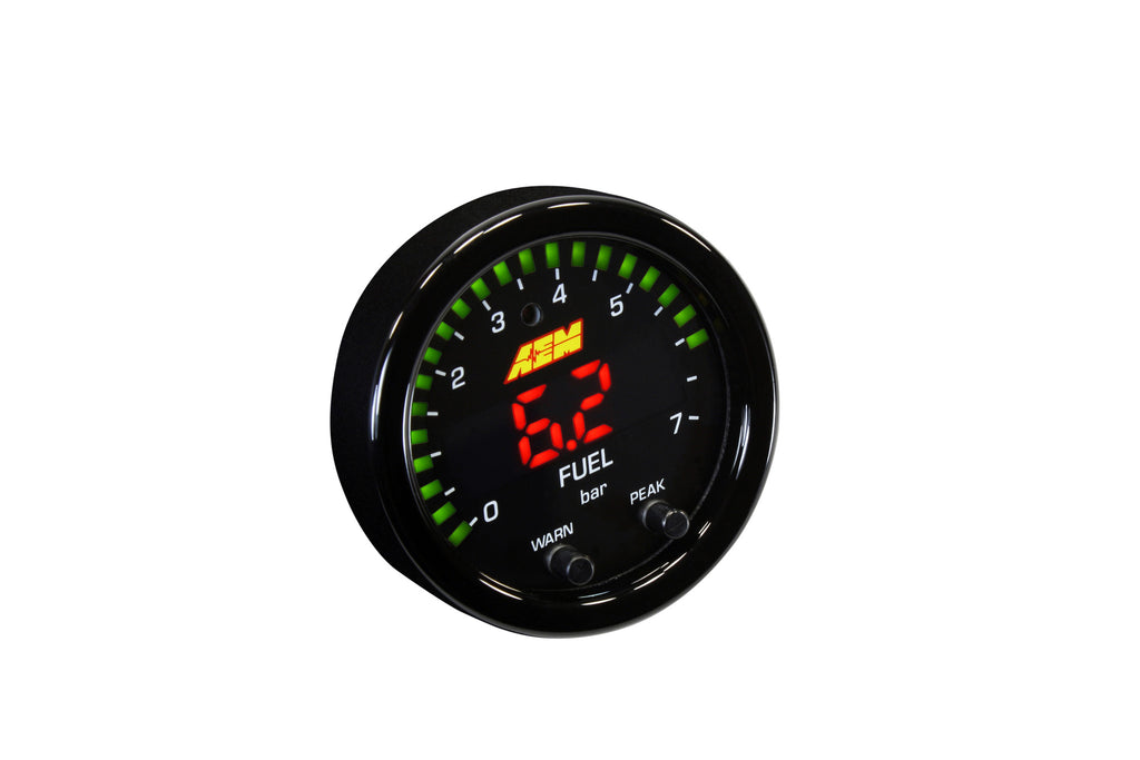 AEM X-Series Pressure 0-100psi Gauge Kit - Never Ending Details