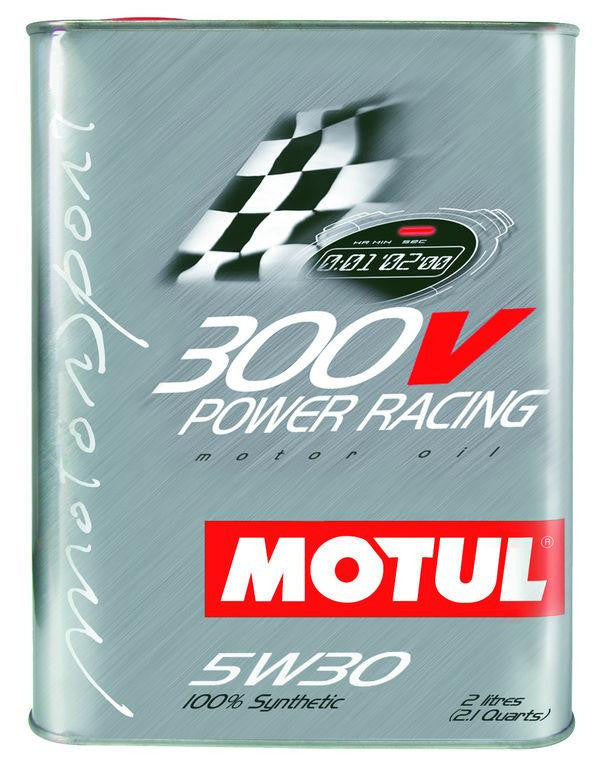 MOTUL 300V Racing 5W-30 Synthetic Engine Oil (2 Liter) - Never Ending Details