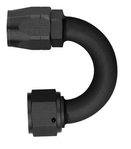 Aeroquip -6AN 180deg Non-Swivel Elbow Hose Fitting - FCM1062