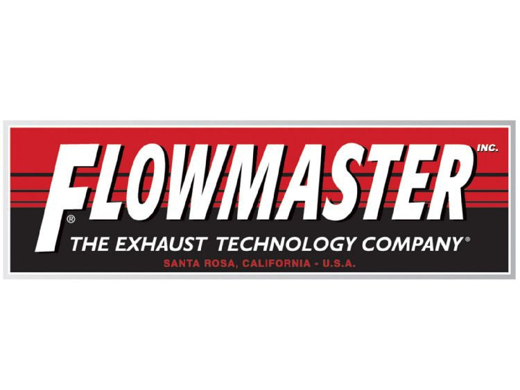 "Flowmaster dBX Muffler, 2.50"" IN/OUT, 6"" x 14"" Case, 304S Stainless Steel - Never Ending Details"