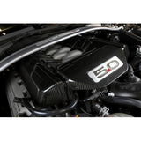 APR 5.0 Carbon Fiber Engine Cover (2015+ Mustang GT) - Never Ending Details