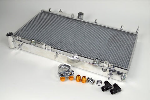 "CSF ""O"" Series Radiator w/ Built In Oil Cooler - Never Ending Details - 1"