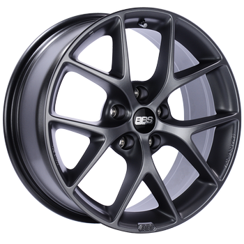 BBS SR 19x8.5 5x114.3 ET45 Satin Grey Wheel