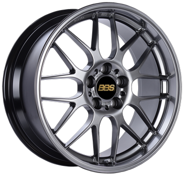 BBS RG-R 19x8.5 5x114.3 ET18 Diamond Black Wheel