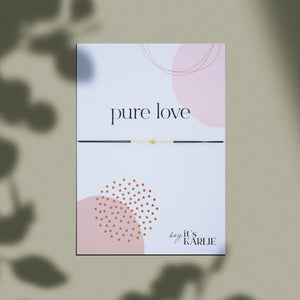 PURE LOVE Armband, gold