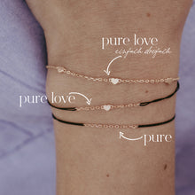 Lade das Bild in den Galerie-Viewer, PURE LOVE Armband, silber