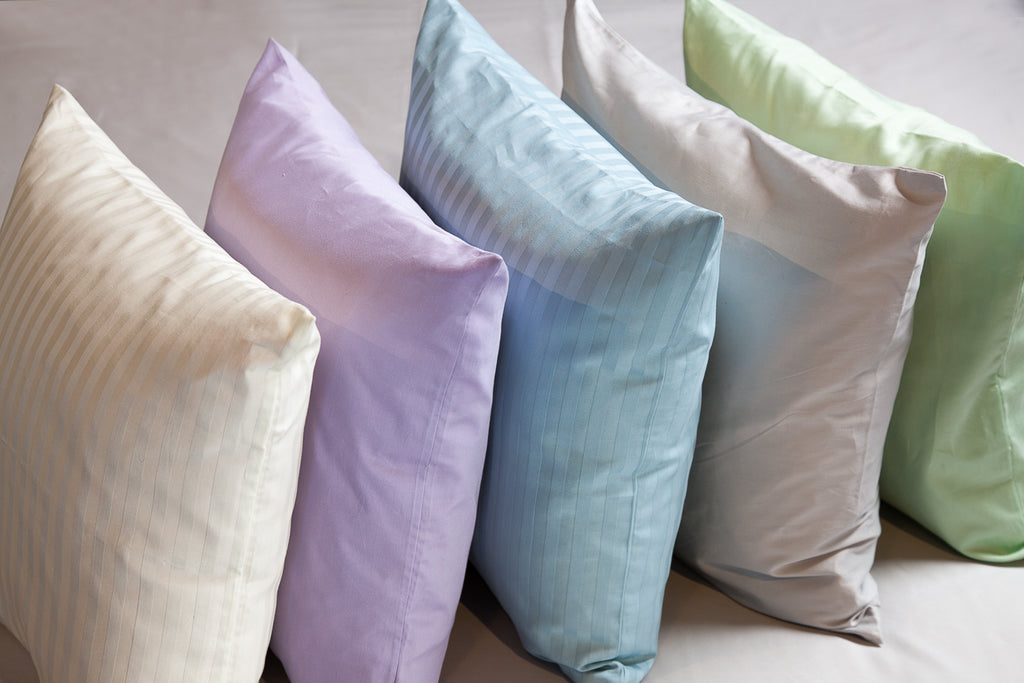 Organic cotton sateen Cushion Covers