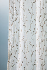 Rhythmic Linen Curtain