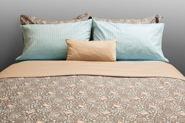 Bloom Organic Cotton Duvet Cover Set - Dreamdesigns.ca