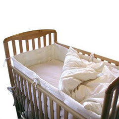 Organic Cotton Crib Bumper Pad - Dreamdesigns.ca