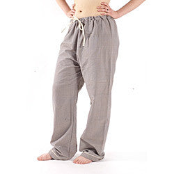 Herbal Dyed Handloom Organic Cotton Pajama Pants - Dreamdesigns.ca