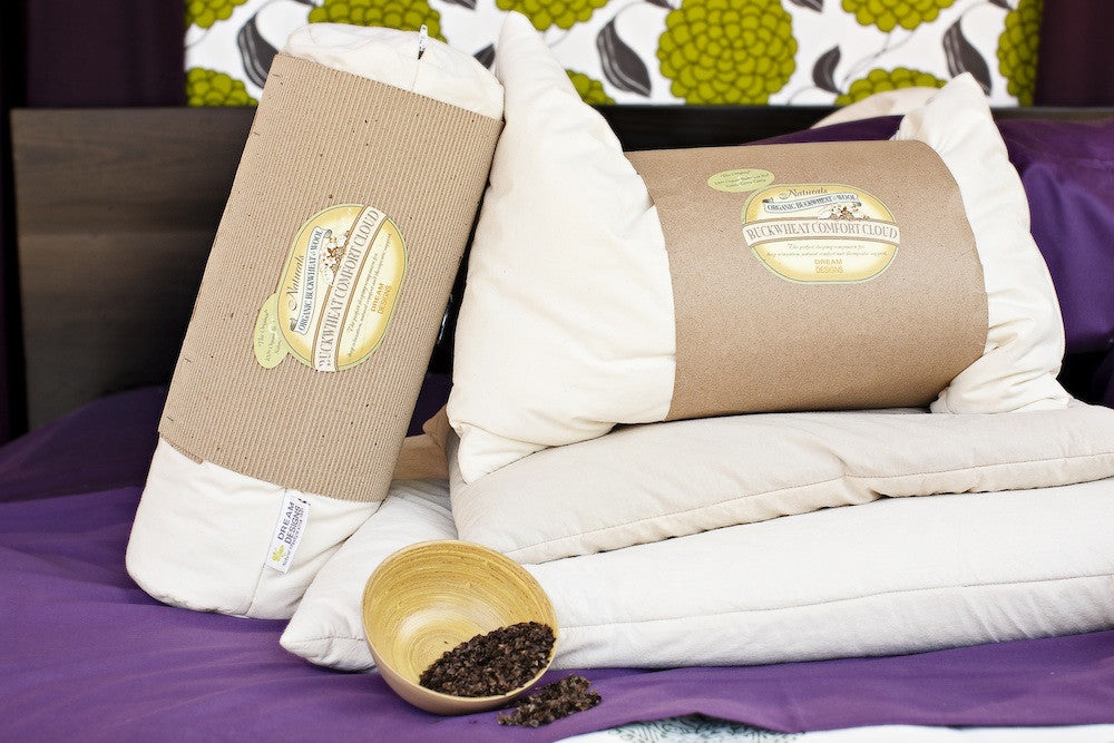 "Buckwheat Pillow ""Natural"" - Dreamdesigns.ca"