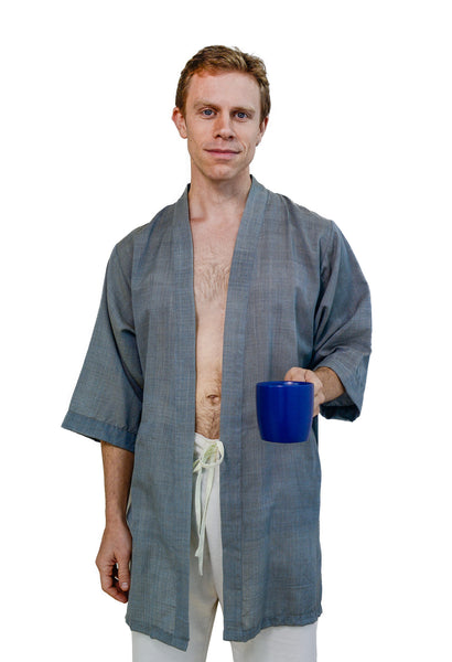 Herboganic Unisex Short Robe - Dreamdesigns.ca