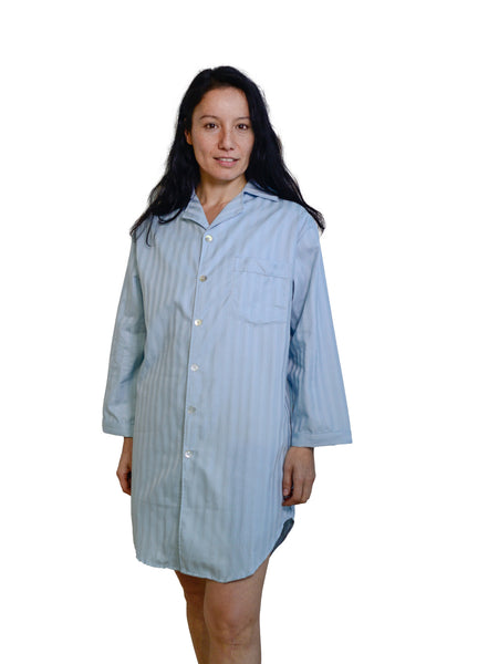 Organic Cotton Sateen Night Shirt - Dreamdesigns.ca