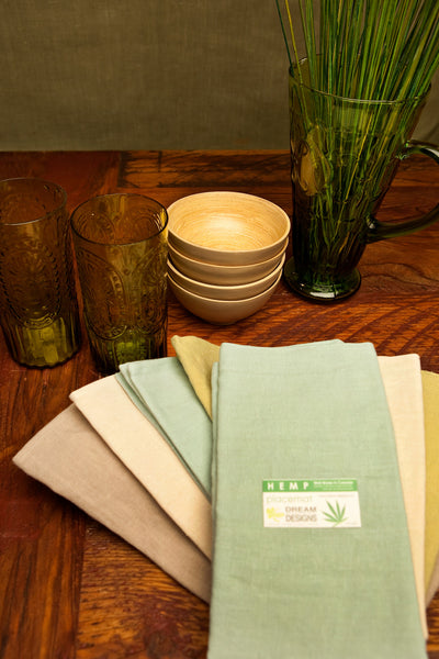 Hemp Napkins - Dreamdesigns.ca