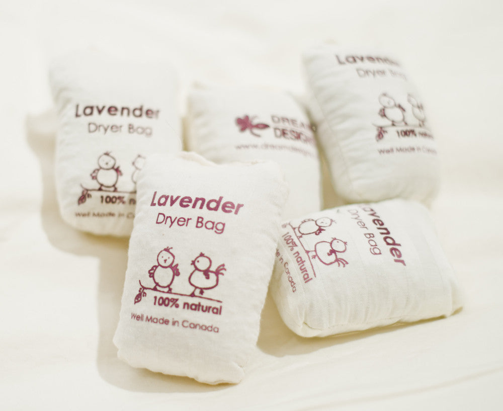 Lavender dryer bag - Dreamdesigns.ca