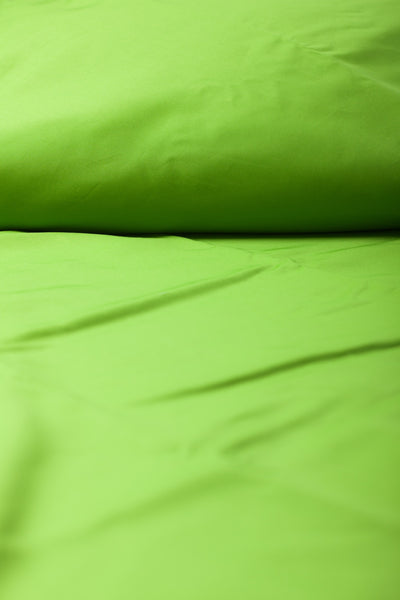 """Clover"" Organic Cotton Sateen Fitted Sheet - Dreamdesigns.ca"