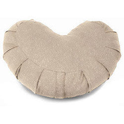 Organic Crescent Buckwheat Zafu - Dreamdesigns.ca