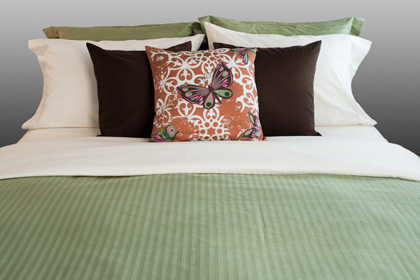 """Lynn Canyon"" Organic Bedding Collection - Dreamdesigns.ca"