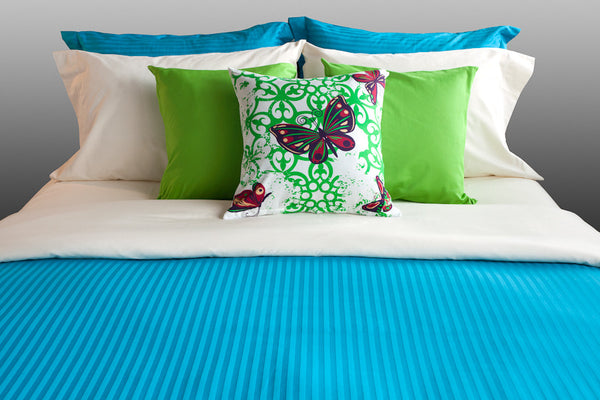 """Caribreeze"" Organic Bedding Collection - Dreamdesigns.ca"
