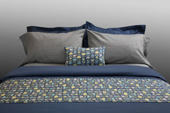 """Mason"" organic cotton sateen sheets & sets"