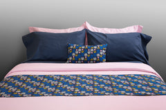 """Blush"" organic cotton sateen duvet covers & sets"