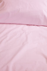 """Blush"" organic cotton sateen pillow cases & shams"