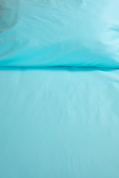 """Seaglass"" organic cotton sateen sheets & sets"